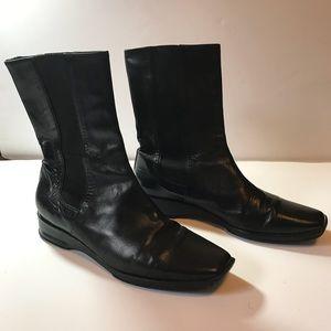 Donald J Spliner Leather Boots